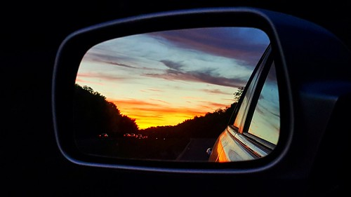 sunset reflection mirror samsunggalaxynote nj 195