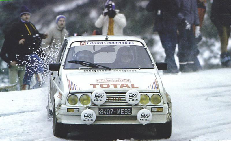 Citroën Visa 1000 Pistes – Montecarlo 1985