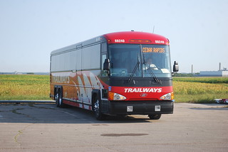 Trailways 68240 bus, Cedar Rapids, IA | by THE Holy Hand Grenade!