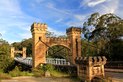 Historic Hampden Bridge,  Kangaroo Valley, Illawarra, NSW | by Black Diamond Images
