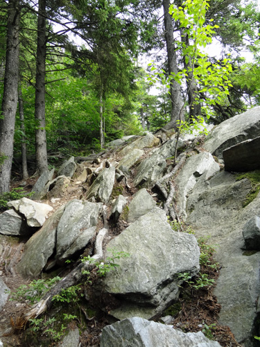 Climb to Eastman Ledges