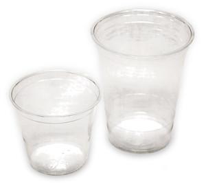 Cups, #1 PET plastic, accepted effective June 2012