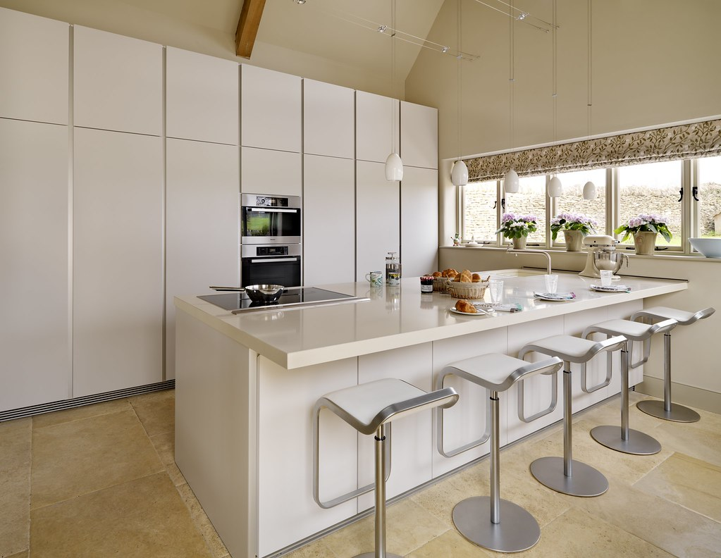 Bulthaup B1 Kitchen With Lem Stools A Row Of Lem Stools Co Flickr