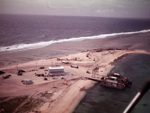 Elmer Island TU-4 assembly area