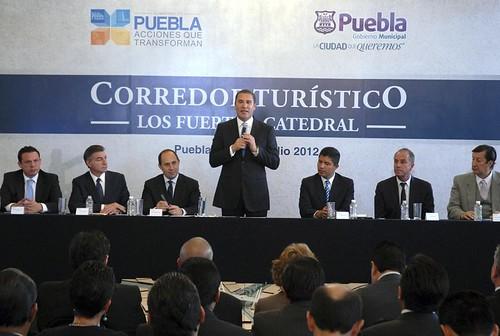 24-07-2012 Presentan RMV y ERP el Corredor Turístico_Los Fuertes-Catedral 3