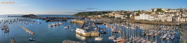 St Peter Port Harbour - KAP Sunrise Panorama