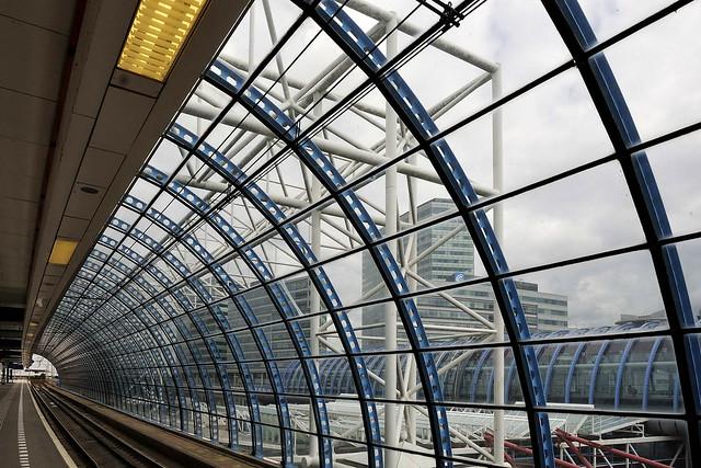 railway station Amsterdam Sloterdijk