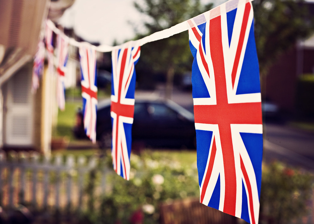 29.05.2012 - Bunting | Our bunting went up in preparation fo… | Flickr