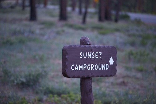 Sunset Campground Sign | by decidedlyodd
