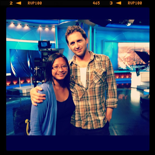 "#kvpnewsroom : Did ya like ""Sweet Home Alabama""? @JoshLucas thanks for joining us @cbssf ! #niceguy #cbs5am #in #fb"