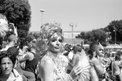 2012-06-23 Roma Gay Pride drag queen BW