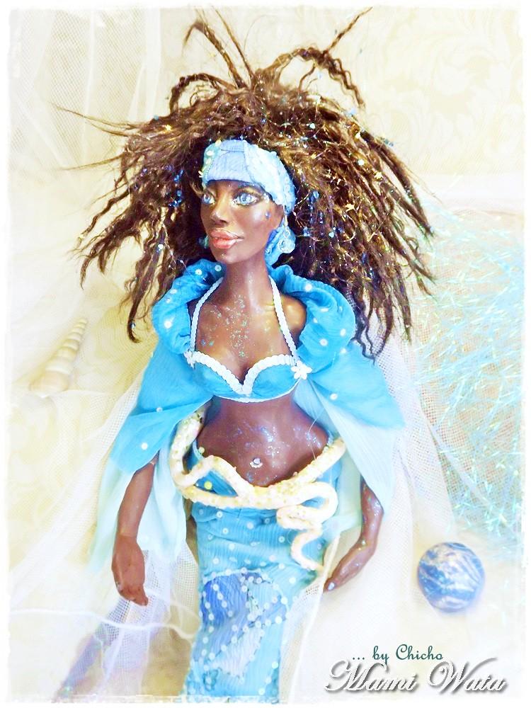 My Art Doll Mami Wata and the symbol of water | My Art Doll