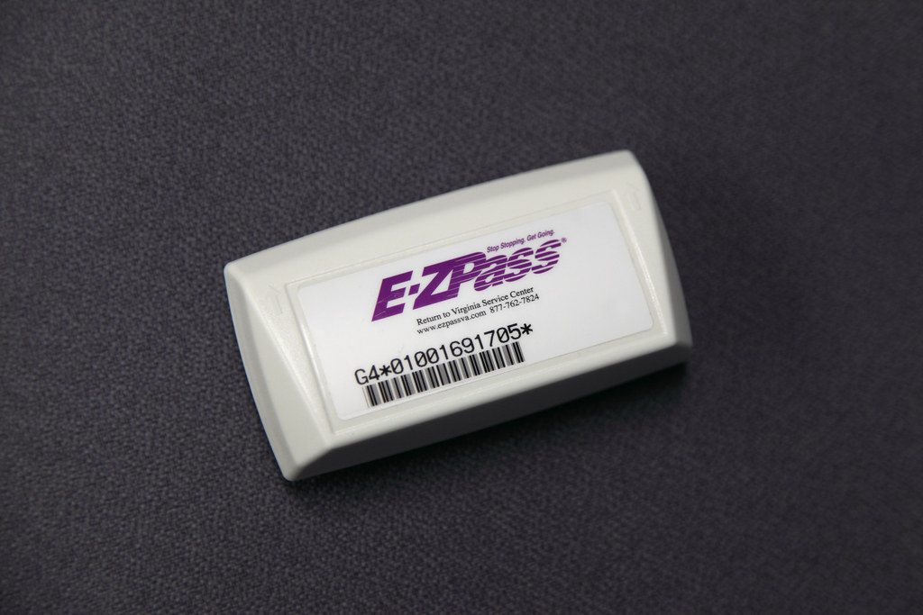 EZ Pass transponder | EZ Pass transponder | Virginia