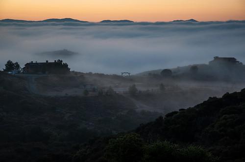 california morning fog sunrise landscape nikon murrieta d90 droke