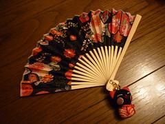 Folding fan (sensu)