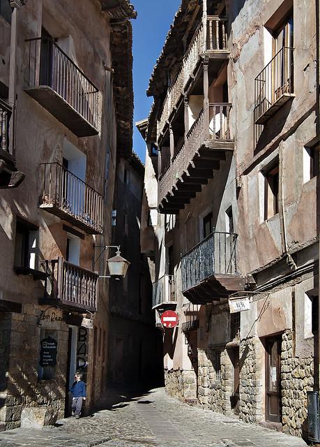 Calle Portal de Molina (Albarracín)