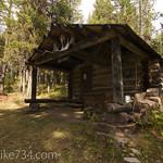 Upper Nyack Creek Patrol Cabin