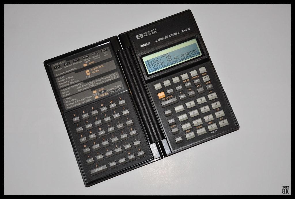 HP 19B II 19BII HP Business Consultant II  Calculator