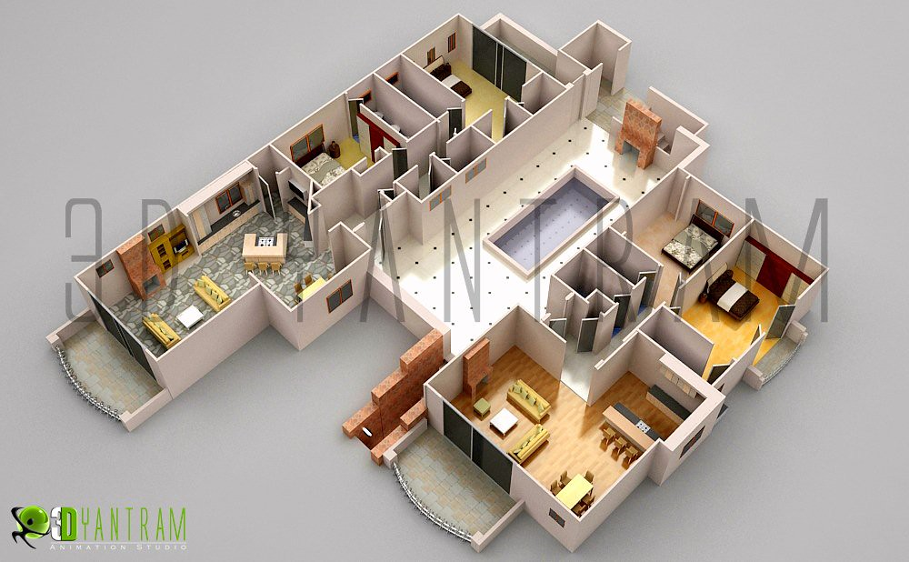 3d Office Floor Plan Design Which Everyone Can Understand Flickr