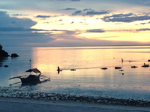 sunset vacation beach golf island asia philippines july resort cebu polo aasia loma 2012 casadelmar ranta saari heinäkuu filippiinit sanremigio