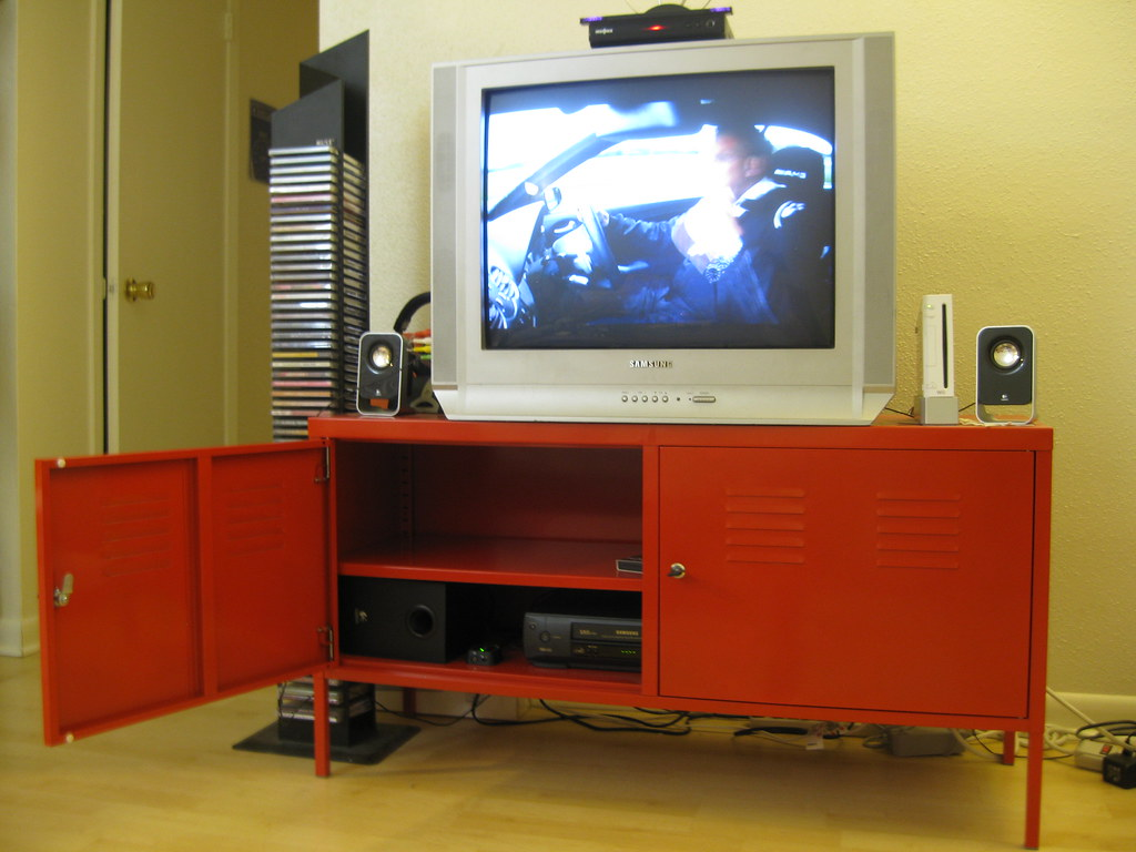new product 6e1e6 1e638 SOLD IKEA PS red tv stand (3/3) - $50 (http://www.ikea.com ...