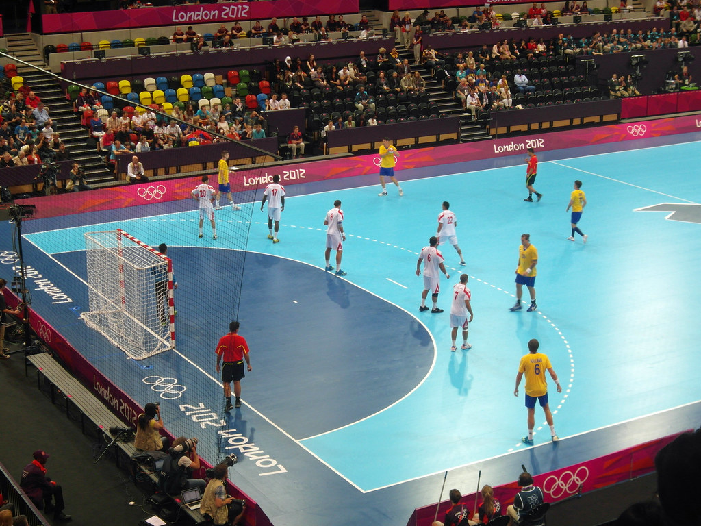 Tunisia V Sweden Handball Diamond Geezer Flickr