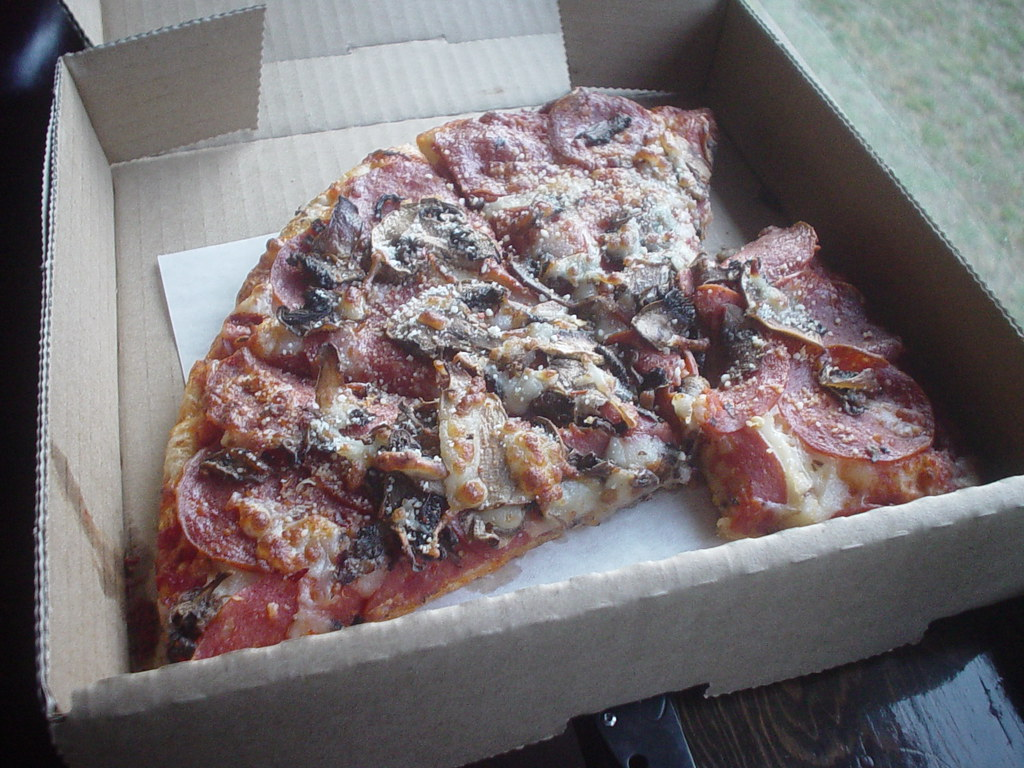 More good pizza