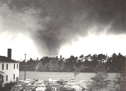 April 30, 1953 F4 Tornado at Warner-Robins AFB, Georgia | Flickr