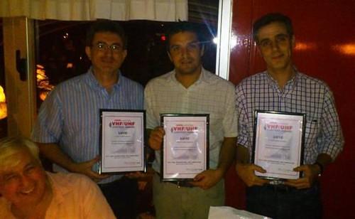 Entrega de Diplomas 3 lugar Concurso EME