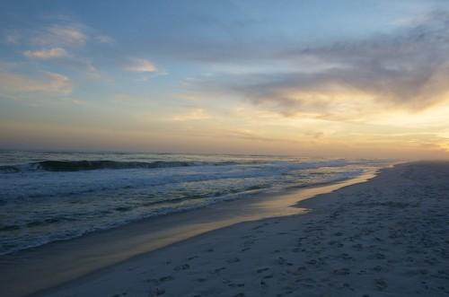 sunset beach nikon footprint gulfbreeze d7000
