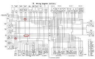 TX500 wiring diagram yamaha Serv man | berniebee1 | Flickr on