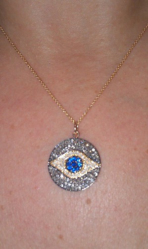pave diamond eye