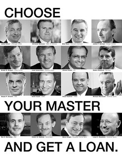 Choose Your Master ... And Get a Loan. They Need Your Debt. | by Ondrej Kloucek