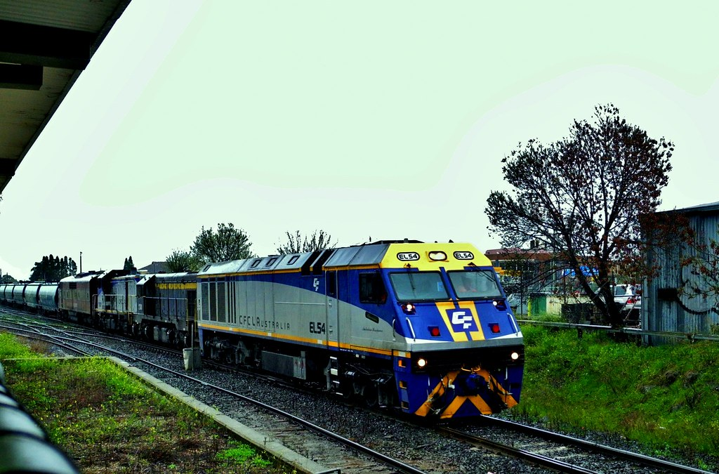 Grain train at West Footscray Victoria by Rodney S300