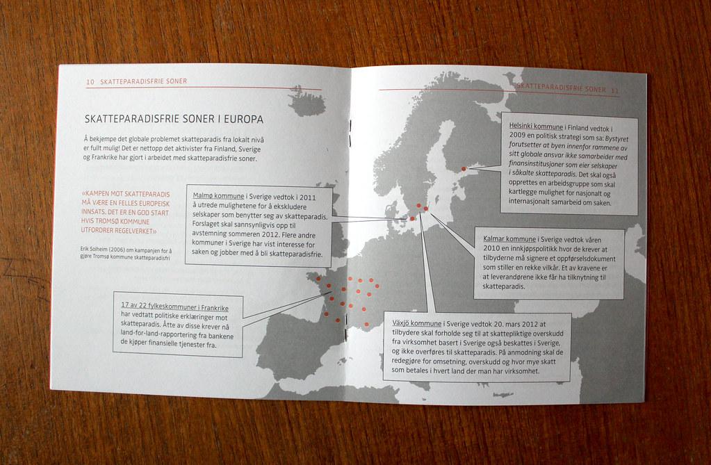Attac Folder Spread Tax Haven Free Zones In Europe Maria Strom Astrup Flickr