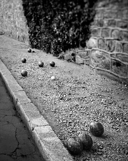 Bocce Ball at Eastern State Penitentiary