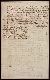 Main Series. [Letter from John Winslow to William Shirley Regarding the Expulsion of the Acadians, page 2] / Série principale. [Lettre de John Winslow à William Shirley concernant la Déportation des Acadiens, page 2]