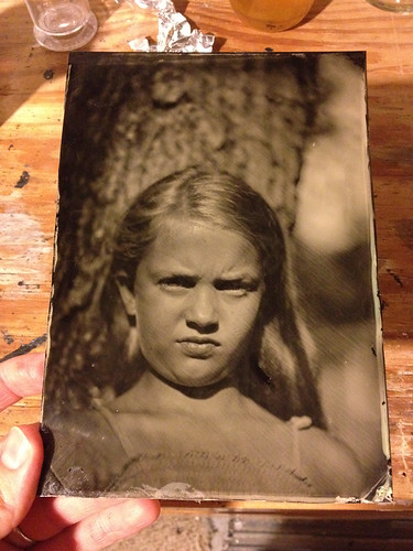 camera portrait view large tintype format 5x7 collodion wetplatecollodion