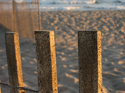 Beach Fence | by GeorgeAlger.com