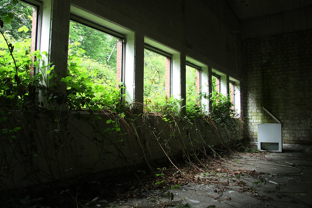 Abandoned military site, Germany
