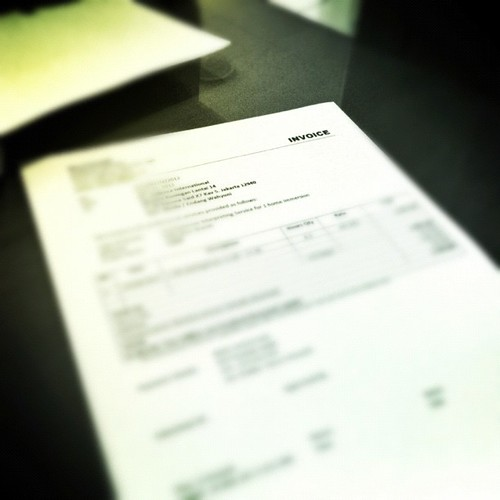 Image Edited with #Snapseed Invoice, Finally Done! #retrogram #kosasih #iphonesia #instago #bwphoto | by Dina Kosasih