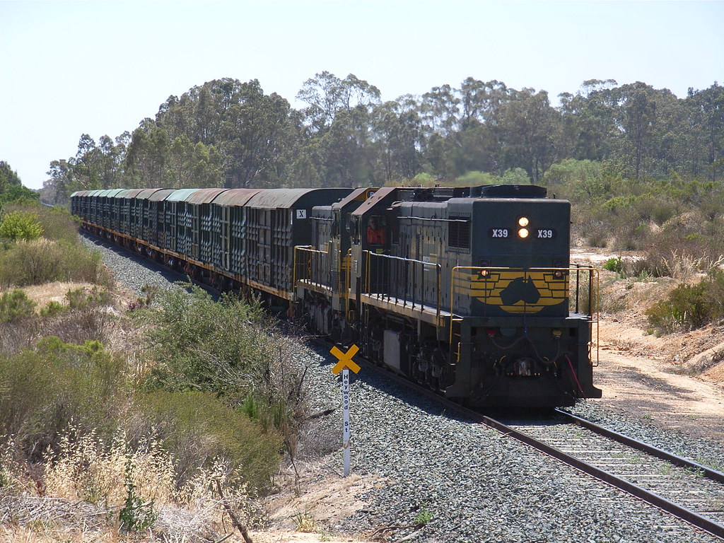 X39 and P19 pass through White Hills on 9084 by bukk05