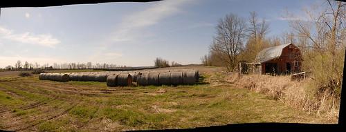 autostitch panorama ontario canada field nikon farm haybales balderson lanarkcounty