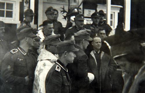 Sorko med sin bataljon i Karasjok