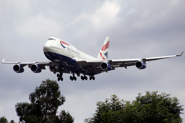 747-400 BRITISH   LHR-EGLL