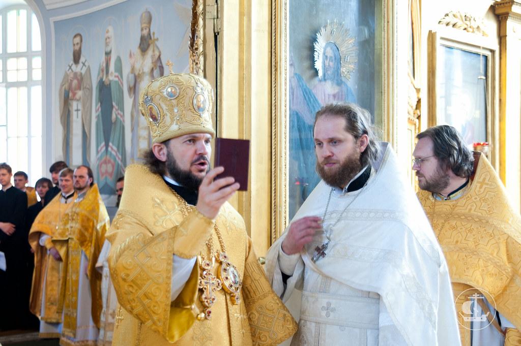 15 июня 2012, Божественная Литургия в день памяти святителя Никифора, патриарха Константинопольского