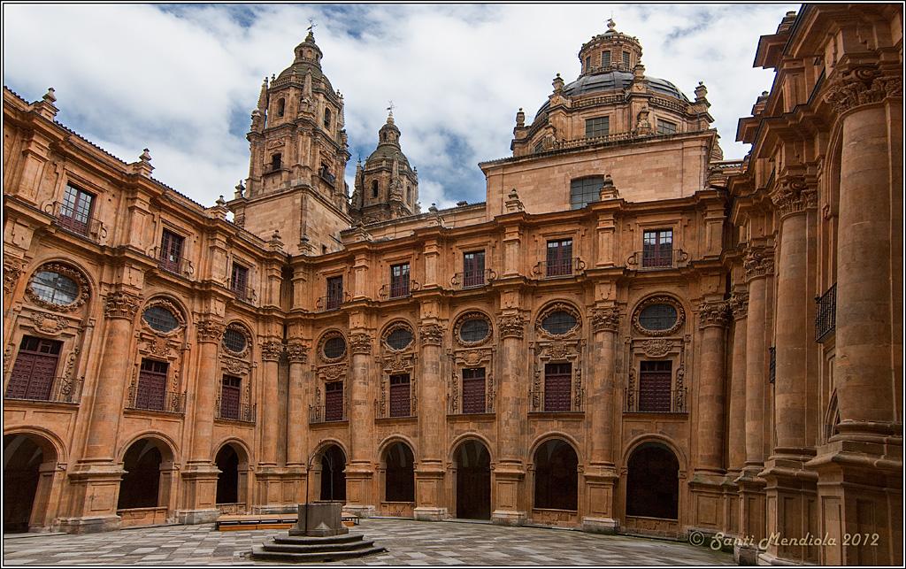 Resultado de imagen de CLAUSTRO DE LA CLERECÍA. SALAMANCA. ESPAÑA