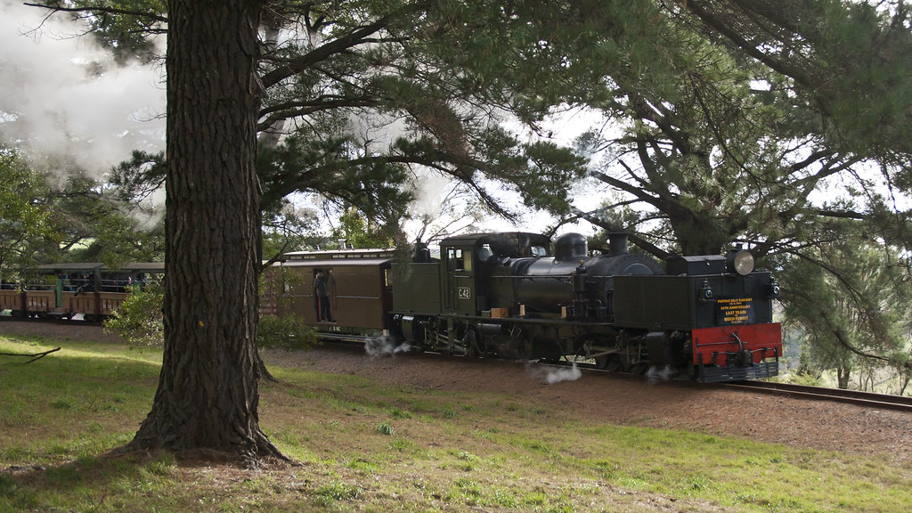 G42 approaching Gembrook by michaelgreenhill