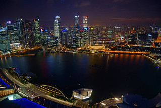 2012-06-17 06-30 Singapore 023 View from Marina Bay Sands | by Allie_Caulfield