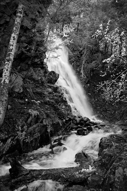 Cascade Falls No. 2, Farmington, Maine (30418-BW)